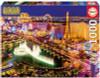 Las Vegas Neon - 1000pc Glow in the Dark Jigsaw Puzzle by Educa