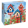 Patriotic Birdhouses - 1000pc Jigsaw Puzzle by Lang