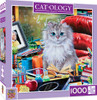 Catology: Einstein - 1000pc Jigsaw Puzzle By Masterpieces