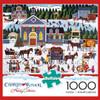 Charles Wysocki: Churchyard Christmas - 1000pc Jigsaw Puzzle by Buffalo Games