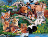 Animal Planet: Forest Friends - 100pc Jigsaw Puzzle By Masterpieces