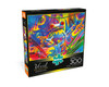 Vivid: Rainforest Frog - 300pc Large Format Jigsaw Puzzle by Buffalo Games