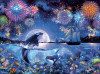 The Dramatic Night - 1000pc Jigsaw Puzzle by Buffalo Games