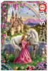 Fairy and Unicorn - 500pc Jigsaw Puzzle by Educa