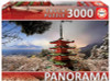 Mount Fuji & Chureito Pagoda - 3000pc Panoramic Jigsaw Puzzle By Educa
