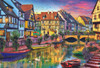 Colmar Canal, France - 4000pc Jigsaw Puzzle by Educa