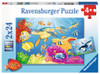 Vibrance Under the Sea - 2x24pc Jigsaw Puzzle By Ravensburger