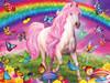 Glow-in-the-Dark: Rainbow World - 300pc EZ Grip Jigsaw Puzzle By Masterpieces