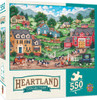 Heartland: The Curious Calf - 550pc Jigsaw Puzzle By Masterpieces