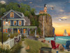 Beachside Lighthouse - 550pc Jigsaw Puzzle by Vermont Christmas Company
