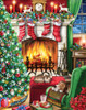Cozy Christmas - 550pc Jigsaw Puzzle by Vermont Christmas Company