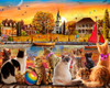 Dockside Cats - 1000pc Jigsaw Puzzle by Vermont Christmas Company