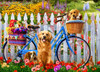 Pedal Pups - 1000pc Jigsaw Puzzle by Vermont Christmas Company