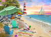 Seaside Beach - 1000pc Jigsaw Puzzle by Vermont Christmas Company