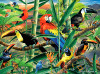 Hautman Brothers: Rainforest Menagerie - 1000pc Jigsaw Puzzle by Buffalo Games