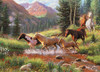 Mountain Thunder - 1000pc Jigsaw Puzzle by Jack Pine