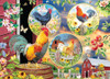 Rooster Magic - 1000pc Jigsaw Puzzle by Jack Pine