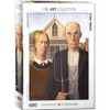 Wood: American Gothic - 1000pc Jigsaw Puzzle by Eurographics
