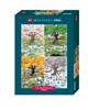 Blachon: 4 Seasons - 2000pc Jigsaw Puzzle By Heye