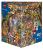 Tanck: In the Attic - 1000pc Jigsaw Puzzle By Heye