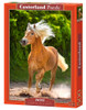 Running Haflinger - 500pc Jigsaw Puzzle by Castorland