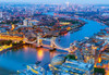 Aerial View of London - 1000pc Jigsaw Puzzle By Castorland