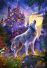 Wolf Castle - 1000pc Jigsaw Puzzle By Castorland