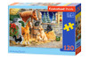 Gathering Friends - 120pc Jigsaw Puzzle By Castorland