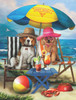 Beach Dogs - 300pc Jigsaw Puzzle By Sunsout