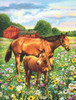 Mare and Foal - 500pc Jigsaw Puzzle By Sunsout