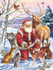 Santa's Menagerie - 1000pc Jigsaw Puzzle By Sunsout