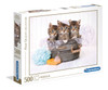 Kittens and Soap - 500pc Jigsaw Puzzle by Clementoni