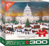 Christmas at the Capitol - 300pc XL Pieces Jigsaw Puzzle by Eurographics