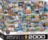 Globetrotter: World - 2000pc Jigsaw Puzzle by Eurographics