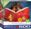 Heffernan: 50 Scents of Grey - 500pc Large Piece Jigsaw Puzzle by Eurographics