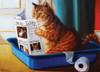 Heffernan: Kitty Throne - 500pc Large Piece Jigsaw Puzzle by Eurographics