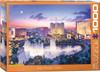 Lushpin: Las Vegas Strip - 1000pc Jigsaw Puzzle by Eurographics