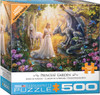 Princess Garden - 500pc Large Piece Jigsaw Puzzle by Eurographics