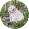 Masch: Spirit of the Forest - 500pc Round Jigsaw Puzzle By Standout Puzzles