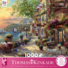 Thomas Kinkade: French Riviera Cafe - 1000pc Puzzle by Ceaco