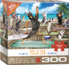 Yoga Spa - 300pc Large Piece Jigsaw Puzzle by Eurographics