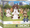 Yoga Park - 300pc Large Piece Jigsaw Puzzle by Eurographics