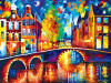 Cities In Color: Amsterdam - 750pc Jigsaw Puzzle by Buffalo Games