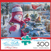 Snowbaby Grace (Kim Norlien) - 500pc Jigsaw Puzzle by Buffalo Games