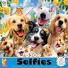 Selfies: Backyard Pals - 550pc Jigsaw Puzzle by Ceaco