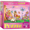 Go Girls Go! Softball - 100pc Jigsaw Puzzle by Eurographics