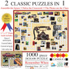 Puzzle Combos: Remember When - 1000pc Crossword Jigsaw Puzzle By Sunsout