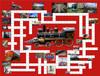 Puzzle Combos: Riding the Rails - 500pc Crossword Jigsaw Puzzle by Sunsout