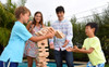 Jenga Giant Family Edition - Stacking Game
