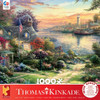 Thomas Kinkade: New England Harbor - 1000 Piece Puzzle by Ceaco